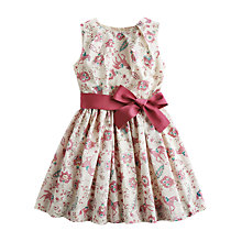 Buy Little Joule Girl Croquet Horse Dress, Cream Online at johnlewis.com