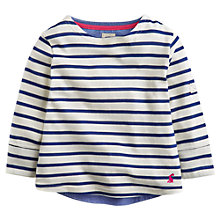 Buy Little Joule Girls' Laura Stripe Top Online at johnlewis.com