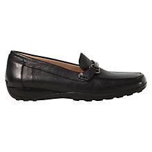Buy Geox Euro Leather Moccasins Online at johnlewis.com