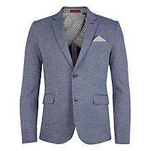Buy Ted Baker Mandburg Jersey Blazer, Navy Online at johnlewis.com