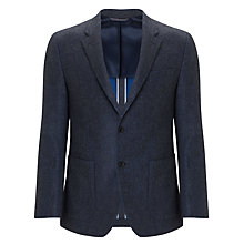 Buy Tommy Hilfiger Jeremy Fitted Wool Blazer, Blue Online at johnlewis.com