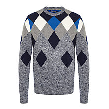 Buy Tommy Hilfiger Clyde Crew Neck Jumper, Navy Online at johnlewis.com