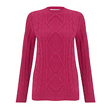 Buy John Lewis Capsule Collection Cable Crew Jumper Online at johnlewis.com
