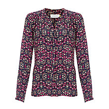 Buy Collection WEEKEND by John Lewis Kaleidoscope Blouse, Pink Online at johnlewis.com