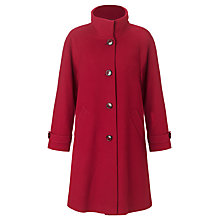 Buy John Lewis Swing Coat, Red Online at johnlewis.com