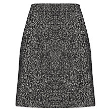 Buy John Lewis Capsule Collection Tweed Skirt, Black/White Online at johnlewis.com