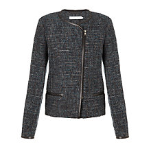 Buy John Lewis Capsule Collection Zip Tweed Jacket, Multi Online at johnlewis.com