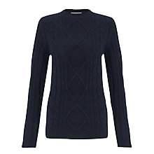 Buy John Lewis Cable Crew Neck Jumper Online at johnlewis.com