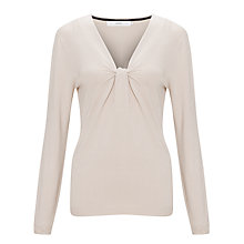 Buy John Lewis Twist Front V-Neck Top Online at johnlewis.com