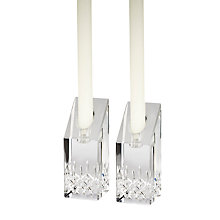 Buy Waterford Lismore Essence Candlestick, Set of 2 Online at johnlewis.com