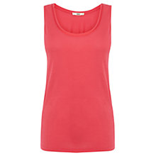 Buy Oasis Double Trim Vest, Mid Pink Online at johnlewis.com
