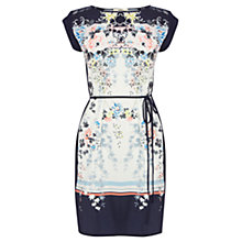 Buy Oasis Blossom Tree Dress, Multi Blue Online at johnlewis.com