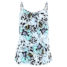 Buy Wishbone Crystal Printed Camisole, Blue/Multi Online at johnlewis.com