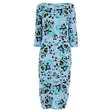 Buy Wishbone Linzi Print Dress, Blue Online at johnlewis.com