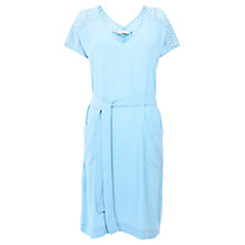 Buy Wishbone Blue WB Taylor Lace Dress, Blue/Black Online at johnlewis.com