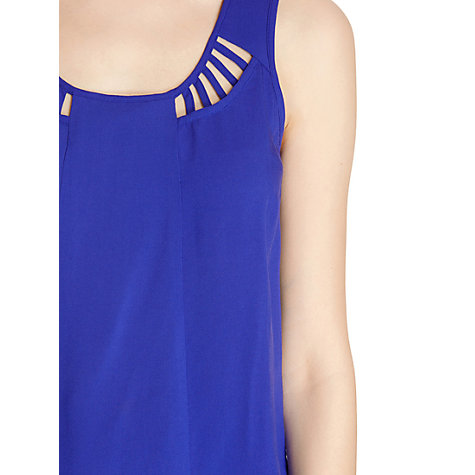 Buy Warehouse Lattice Detail Dress Online at johnlewis.com