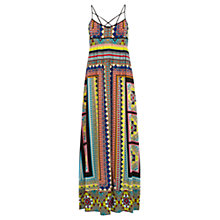 Buy Warehouse Placement Tribal Maxi Dress, Multi Online at johnlewis.com