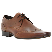 Buy Dune Rascal Leather Brogue Derby Shoes Online at johnlewis.com