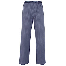 Buy Calvin Klein Flannel Archie Stripe Lounge Pants, Blue Online at johnlewis.com