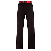 Buy Calvin Klein Lounge Pants, Black Online at johnlewis.com