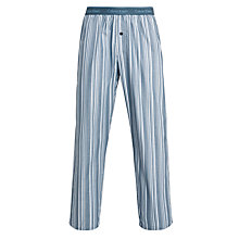 Buy Calvin Klein Woven Todd Striped Lounge Pants, Blue Online at johnlewis.com