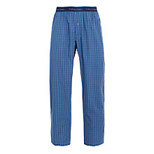 Buy Calvin Klein French Terry Lounge Trousers, Blue Online at johnlewis.com