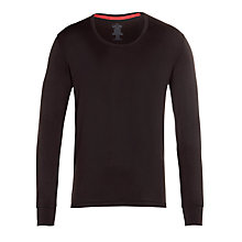Buy Calvin Klein Underwear Thermal Long Sleeve Crew Neck Top, Black Online at johnlewis.com