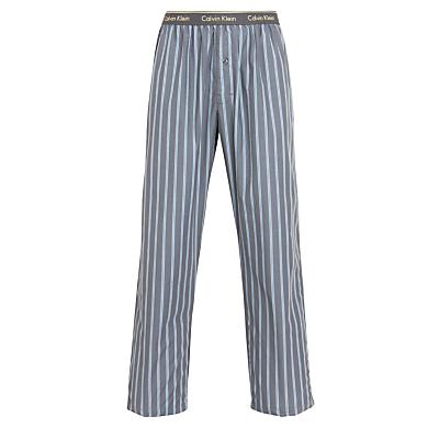 Calvin Klein Pendleton Stripe Print Woven Lounge Trousers, Grey
