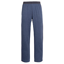 Buy Calvin Klein Woven Lounge Pants, Blue/Grey Online at johnlewis.com