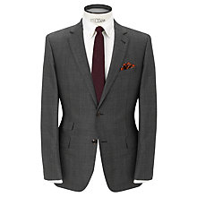 Buy JOHN LEWIS & Co. Tailored Chepstow Check Single Breasted Suit Jacket, Grey Online at johnlewis.com