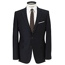 Buy JOHN LEWIS & Co. Tailored Ledbury Chalk Stripe Suit Jacket, Navy Online at johnlewis.com