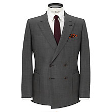Buy JOHN LEWIS & Co. Tailored Chepstow Check Double Breasted Suit Jacket, Grey Online at johnlewis.com