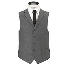 Buy JOHN LEWIS & Co. Tailored Pembridge Houndstooth Waistcoat, Grey Online at johnlewis.com
