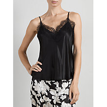 Buy Somerset by Alice Temperley Alice Lace Cami Top, Black Online at johnlewis.com