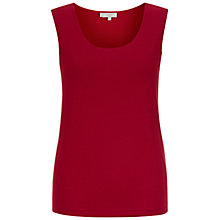 Buy Hobbs London Elise Shell, Sienna Red Online at johnlewis.com