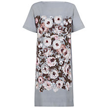 Buy Hobbs London Beth Dress, Grey Multi Online at johnlewis.com