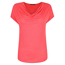 Buy Violeta by Mango Draped Neckline T-Shirt Online at johnlewis.com