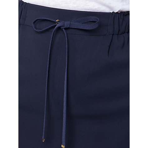 Buy Violeta by Mango Drawstring Skirt, Navy Online at johnlewis.com