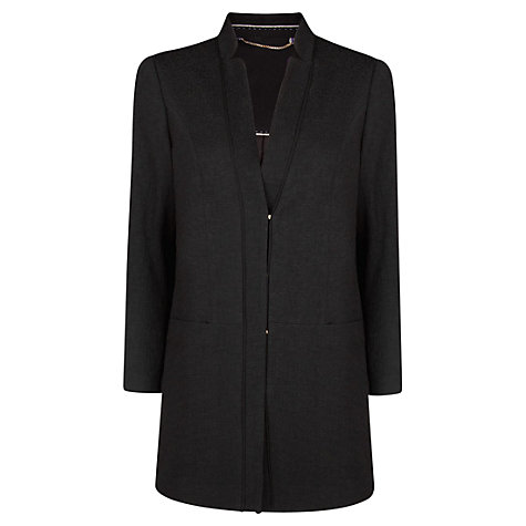 Buy Violeta by Mango Jacquard Coat Online at johnlewis.com
