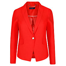 Buy Violeta by Mango Jersey Blazer, Bright Orange Online at johnlewis.com