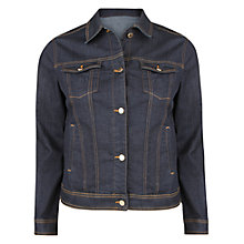 Buy Violeta by Mango Denim Jacket, Dark Blue Online at johnlewis.com