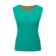 Buy Viyella Lagoon Reversible Sleeve Vest, Lagoon Online at johnlewis.com