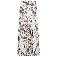 Buy Hobbs Beth Maxi Skirt, Multi Online at johnlewis.com