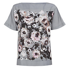 Buy Hobbs Beth Top, Grey Multi Online at johnlewis.com