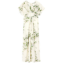 Buy Gérard Darel Long Printed Flowery Dress, Multi Online at johnlewis.com