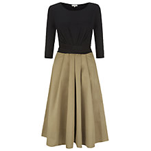 Buy Hobbs London Jessica Dress, Black Mocha Online at johnlewis.com
