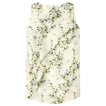 Buy Gérard Darel Flowered Blouse, White Online at johnlewis.com