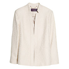 Buy Violeta by Mango Fantasy Blazer, Light Beige Online at johnlewis.com