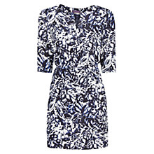 Buy Violeta by Mango Floral Print Dress, Navy Online at johnlewis.com