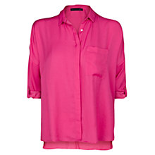 Buy Violeta by Mango Lightweight Boxy Blouse Online at johnlewis.com